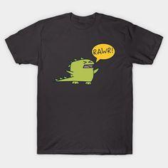 Kawaii dinosaur design! Grab one if you're a dino lover!