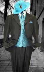 Steve Harvey suit, tie, shirt & hat Pinterest Marketing Tips mkssocialmediamarketing.mkshosting.com