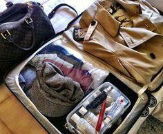 Como levar apenas a mala de mão em viagens!