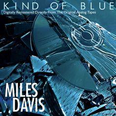 ChibchaStudio - Digital Arts Kind Of Blue, Miles Davis, Digital Art, The Originals, Movies, Movie Posters, Film Poster, Films, Popcorn Posters