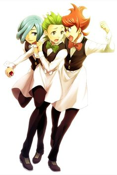 Chili, Cilan and, Cress! <3