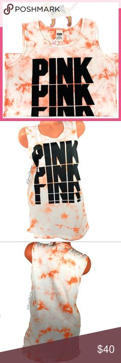 •Victoria's Secret PINK• Tie Dye Logo Tank top V I C T O R I A 'S ✦ S E C R E T  PINK  ❈ Condition: New with tags  ❈ Reasonable Offers Always Welcome!  ❈ Fast shipping Monday⇢Friday  Same/Next day after your purchase  ❈ Questions? Please comment below,  I will be more than happy to assist you ☻  ❈ Bundles are always encouraged to save on shipping!   ❈Thank you for stopping by! Hope to have you as a customer or returning customer   xo ღ Jennifer PINK Victoria's Secret Tops Tank Tops