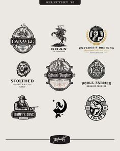 Logos/Emblems 2015 on Behance