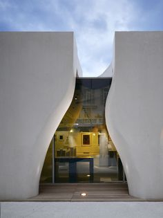 Musée Jean Cocteau in Menton, France by Rudy Ricciotti Architect