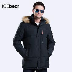 Health Is Enough And More ICEbear 2017 Winter New Jacket Men Warm Coat Fashion Casual Parka Medium-Long Thickening Coat Men For Winter 15MD927D Regular price$93.60 Sale price$147.20