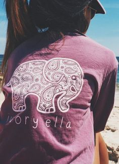 Long Sleeve T-shirt Printed Elephant 100% Knitted Cotton. Get yours here: https://ecolo-luca.com/collections/tshirt/products/long-sleeve-t-shirt-printed-elephant-100-knitted-cotton