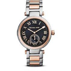 Michael Kors Two Tone Skylar Watch, 40.5mm