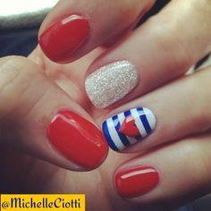 #july #nailsart #sailor #nails #beauty #girly #best