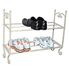 Small Retro Shoe Rack Antique Display Design Hallway Wardrobe Storage Bathroom for sale online