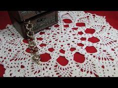 Carpeta de mesa paso a paso a Crochet | Mi Rincón del Tejido - YouTube