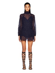 DUSK TO DAWN L/S DRESS - Bec and bridge