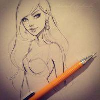 Sketching by gabbyd70