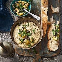 Baba Ghanoush by Sivi Vegetarian Appetizers, Appetizer Recipes, Raw Vegetables, Veggies, Fiber Rich Fruits, Vegan Fast Food, Baba Ganoush, Healthy Body Weight, Food And Drink