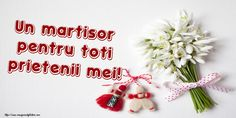 Un martisor pentru toti prietenii mei! Album, Christmas Ornaments, Holiday Decor, Home Decor, Decoration Home, Room Decor, Christmas Jewelry, Christmas Baubles, Christmas Decorations