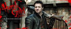 Jeremy Renner - Hansel and Gretel Movie Banner No.3