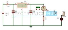 Electronic Eye Circuit Diagram