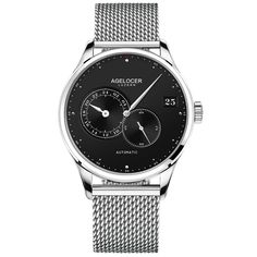 AGELOCER Man Watch Metal Bracelet Waterproof thin horloges luxury gifts for men Luxury Gifts For Men, Luxury Watches For Men, Metal Bracelets, Metal Jewelry, Sport Watches, Men's Watches, Swiss Watch Brands, Sport Man, Automatic Watch