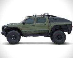 Toyota Tacoma Polar Expedition Truck