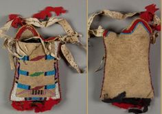 Piegan mirror bag, before 1895.  NMNH  ac
