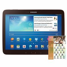 """Samsung 10.1"""" Galaxy Tab 3 Wi-Fi Android Tablet w/Apps"""