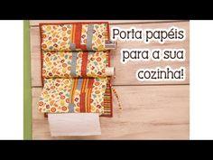 Tia Lili na TV: porta papéis para cozinha - YouTube