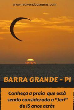 Barra Grande é uma vila deliciosa de ruas de areia que fica no Piauí, já na divisa com Ceará!  Ela está sendo considerada a Jeri de 15 anos atrás!