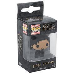 Jon Snow, één van de meest bekende personages uit de hitserie Game Of Thrones. De Funko Pop! - Jon Snow sleutelhanger wordt geleverd in een praktische vensterdoos, waarin Jon altijd goed zichtbaar is.