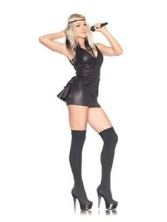 Womens Trash Bag Pop Star Sexy Costume Medium Comprises get dressed with pretend fur and pearl collar. Hand Wash in Chilly Water. Line Dry. No Bleach. The post Womens Trash Bag Pop Star Sexy Costume Medium appeared first on Halloween Costumes Best. Pop Star Costumes, White Halloween Costumes, White Costumes, Women Halloween, Adult Halloween, Star Fancy Dress, Dress Up Outfits, Dresses, Costumes For Women