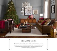 Holiday Chic | Williams-Sonoma Home