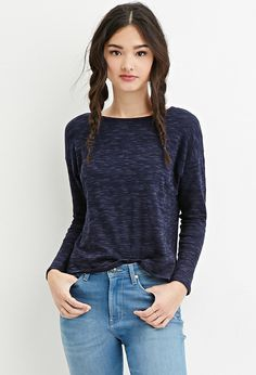 Button-Back Knit Top