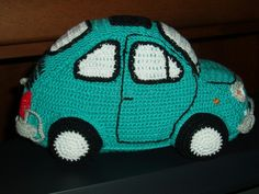 FIAT 500L Crochet Car, Crochet Toys, Fiat 500l, Doll Toys, Dolls, Origami, Projects To Try, Beanie, Crafty