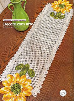Crochet Sunflower Way In - CROCHE WITH RECIPES