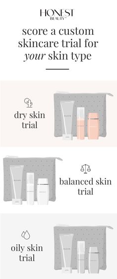 Score a free trial of Honest Beauty skincare that's targeted to your skin's needs. Just pay $5.95 shipping and get ready to glow.