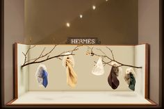 Concept proposal / Window display for the Hermès flagship store in Geneva, Switzerland ECAL, Mas Luxe 2013 - 2014 Hermes Window, Hermes Store, Stores, Visual Merchandising, Art Direction, Geneva Switzerland, Windows, Ceiling Lights, Window Displays