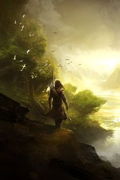 the wanderer, who searches for something that even he does not know