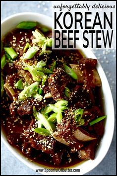 Could You Eat Pizza With Sort Two Diabetic Issues? This Korean Beef Stew Recipe Is One Of Our Family's Favorite. It's A Flavorful Stew With An Irresistible Sauce Be Sure To Prepare Lots Of Rice And Bean Sprouts For Side Dish. Korean Beef Stew Recipe, Stew Meat Recipes, Beef Stew Meat, Stewing Beef Recipes, Beef Broth, Beef Short Ribs, Beef Ribs, Korean Short Ribs, Braised Beef
