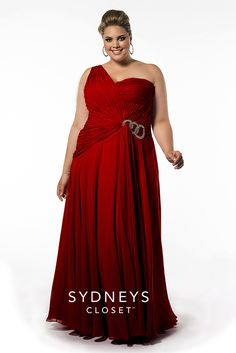 Love this Red Carpet inspired Evening Gown for winter formal. The color is a great option for you, the draping will fall easily on your body, the one shoulder allows you to show off your collarbone and the ruching is slimming and figure flattering. I would guess you'd be fine in a size 14 in this gown.