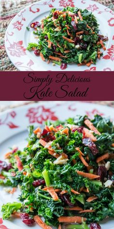 Delicious and easy kale salad recipe your whole family will love // http://evolvingmotherhood.com