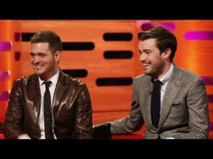"Jack Whitehall jokes about having a ""Buble Bath"""