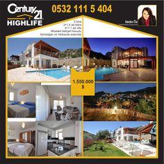 3 Bina, 4 daire+1 Villa, komple site... Havuzu hediye!... ;)