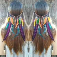 Fun Rainbow feather headbands! Link to my shop in my bio.  #love #beautiful #beauty #halloween #boho #bohemian #goodvibes #gypsy #fashionblogger #festival #hairstyle  #tribal #edm #Burningman #fantasy #instagood  #tomorrowland #hardsummer #fashion #style #plur #rainbow #hippie #hipster #grunge #forest #costume  #highsociety #wanderlust  #longhair