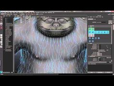 Maya tutorial: Create realistic hair and fur, Part 3 - YouTube