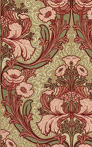 Windsor Floral historic wallpaper