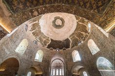 The Imposing Interior of Thessaloniki's Rotunda Thessaloniki, Byzantine, Past, City, World, Places, Interior, Blog, Photography