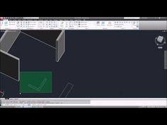 AutoCAD Tutorial Basico Starter 40 / Como dibujar Autocad 3D INICIACION Curso 1 HD - YouTube