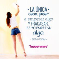 Es no empezarlo. Seth Godin, Tupperware, Logo, Memes, Sentences, Spanish, Harvest, Business, Diary Book