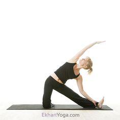 Gate Pose or Parighasana - Ekhart Yoga