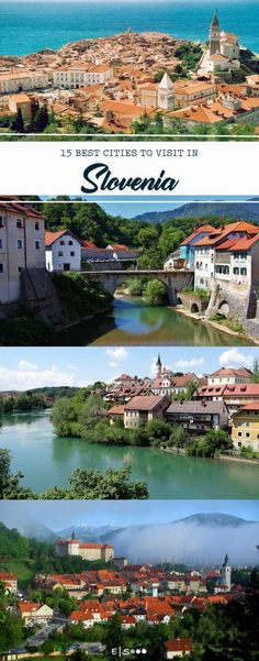 15 best cities you have to visit at least once in - You will enjoy the gorgeous vistas of Lake Bled and the relaxed vibe of Ljubljana, the capital city, but you can also find several hidden gems in this off-the-beaten-path Eastern European country. Europe Destinations, Europe Travel Guide, Backpacking Europe, Visit Slovenia, Slovenia Travel, Bled Slovenia, Slovenia Ljubljana, Austria, Reisen In Europa