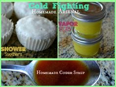 Cold Fighting Homemade Arsenal - 3 natural & budget friendly alternatives to store-bought that you can make at home