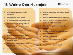Waktu Doa Mustajab